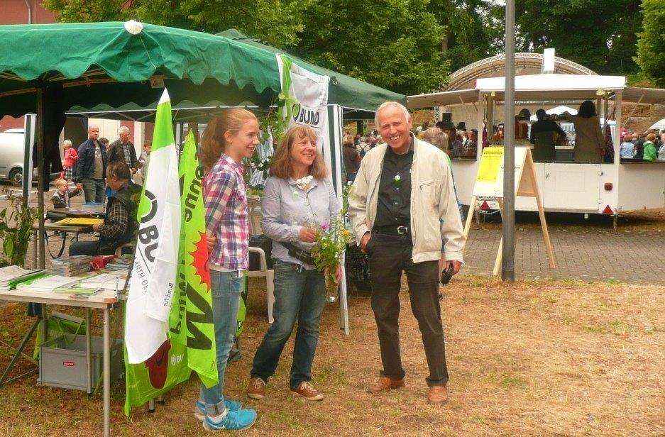 Bundstand-Sabine1 Berggartenfest 2015