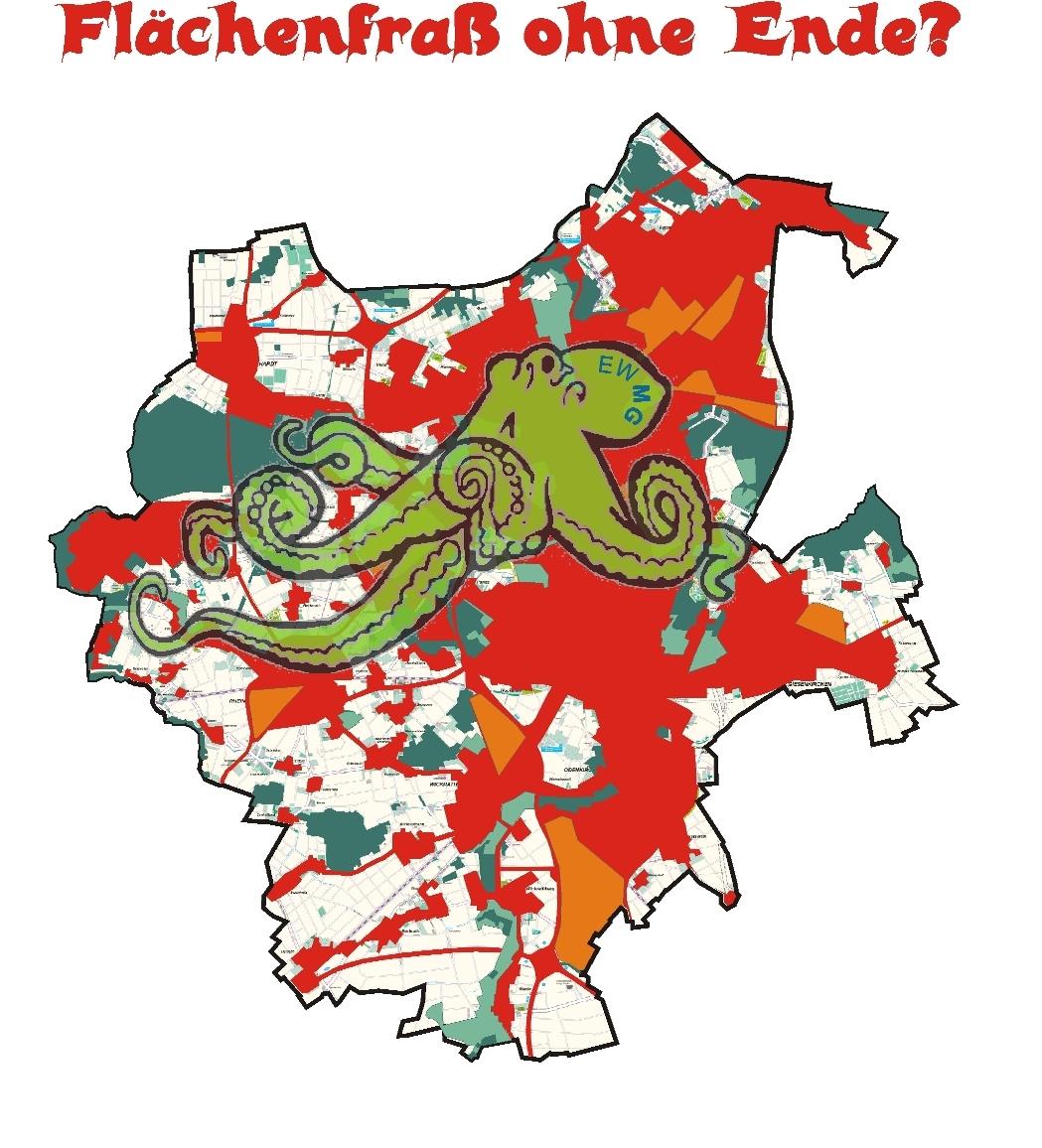 Flächenverbrauch in Mönchengladbach besorgniserregend