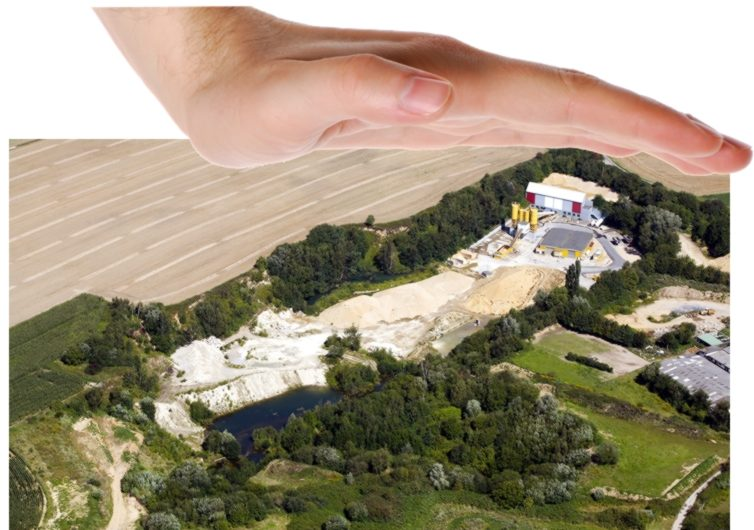 60 Jahre illegaler Abgrabungsbetrieb in Odenkirchen Die schützende Hand